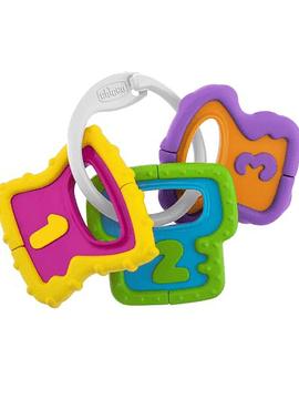 Chicco Brinquedo Chave Pega Fácil  Números 3m+