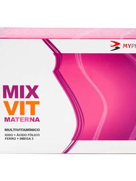 Mixvit Materna Lipid Caps X 30 cáps(s)