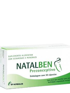 Natalben Preconc Caps X 30 cáps(s)
