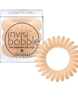 Invisibobble Original Elástico Cabelo Nude x3 Unidades