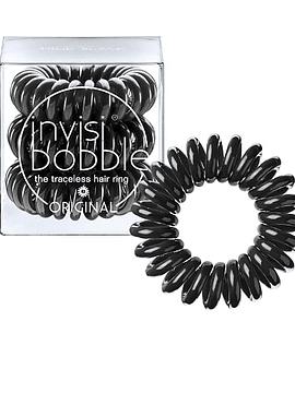 Invisibobble Original Elástico Cabelo Preto x3 Unidades