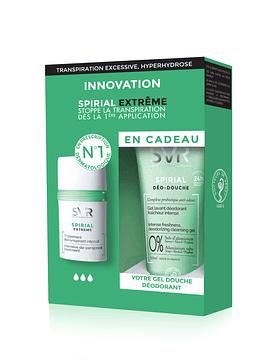 SVR Spirial Extreme Desodorizante 20 ml com Oferta de Déo-Duche Gel 50 ml