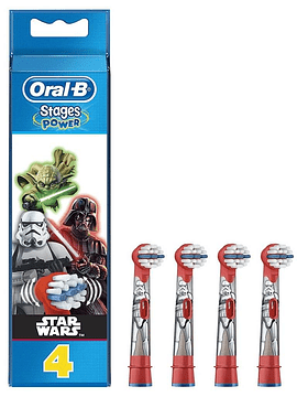 Oral B Recarga Escova Eléctrica Stages Star Wars X4