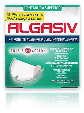 Algasiv Almofadas Dentes Superiores X18