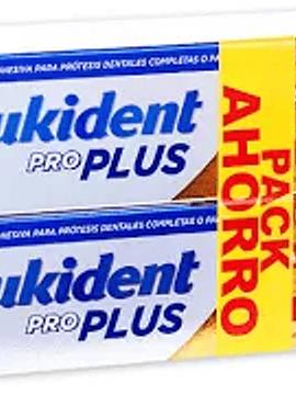 Kukident Pro Plus Duo Creme Prótese Dentária Dupla Ação 2 x 40 g