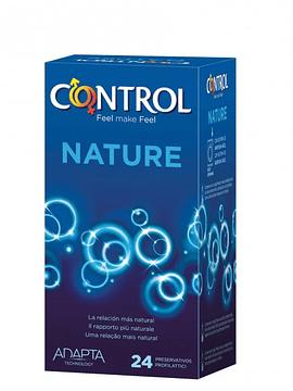 Control Preservativos Adapta Nature x24