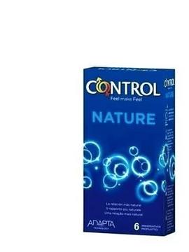Control Preservativos Adapta Nature x6