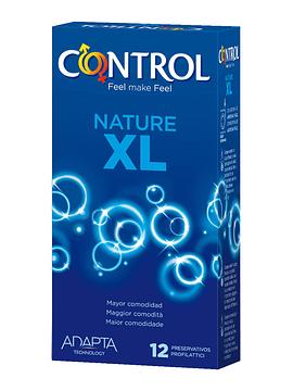 Control Preservativos Adapta Nature XL x12