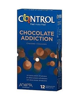 Control Preservativos Chocolate Addict Adapta x12