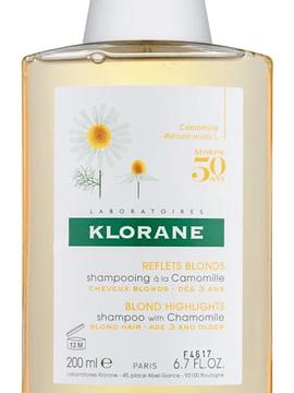 Klorane Capilar Champô Camomila 200ml