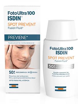 FotoUltra 100 Isdin Spot Prevent Fusion Fluid Spf50+ 50ml