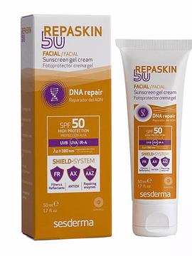 Sesderma Repaskin Gel Creme Fotoprotetor SPF50 50Ml