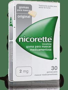 Nicorette, 2 mg x 30 goma