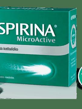 Aspirina Microactive, 500 mg x 20 comp rev