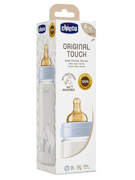 Chicco Biberão Original Touch 4m+ 330ml Azul