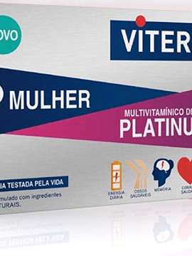 Viterra Mulher Platinum 55+ X30 Comprimidos