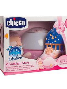 Chicco Projetor Goodnight Stars Rosa