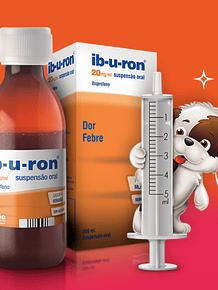 Ib-u-ron, 20 mg/mL-200 mL x 1 suspensão oral mL