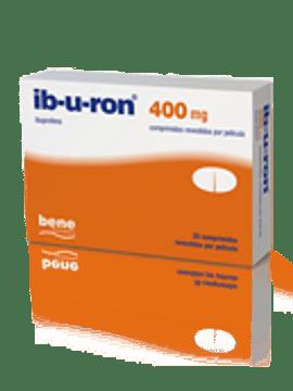 Ib-u-ron, 400 mg x 20 comprimidos revestidos