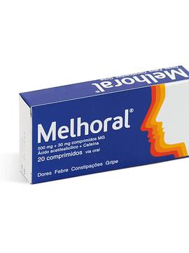 Melhoral, 500/30 mg x 20 comprimidos