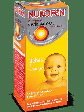 Nurofen, 20 mg/mL-150 mL x 1 suspensão oral mL