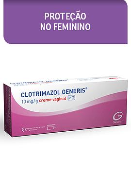 Clotrimazol Generis MG, 10 mg/g x 1 creme vaginal bisnaga