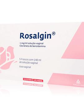 Rosalgin, 1 mg/mL-140 mL x 5 solução vaginal irrigador