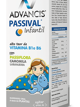 Advancis Passival Infantil Xarope 150ml xar mL