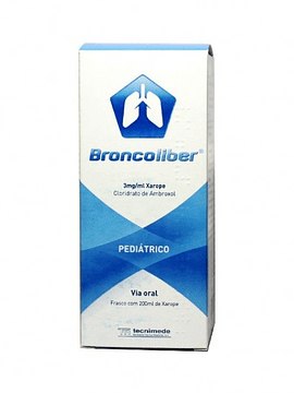 Broncoliber, 3 mg/mL-200 mL x 1 xarope mL