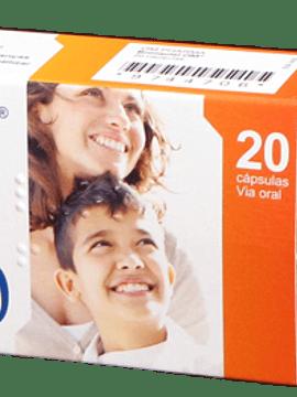Bronquial-Om, 375/60 mg x 20 cápsulas
