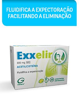 Exxelir MG, 600 mg x 20 comprimidos efervescentes