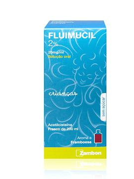 Fluimucil 2%, 20 mg/mL-200 mL x 1 solução oral mL