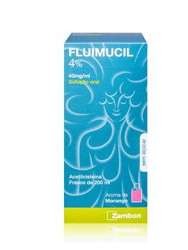 Fluimucil 4%, 40 mg/mL-200 mL x 1 solução oral mL