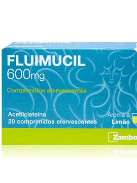 Fluimucil, 600 mg x 20 comprimidos efervescentes
