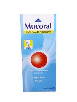 Mucoral, 20 mg/mL-200mL x 1 xarope mL