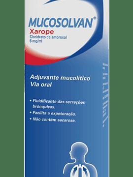 Mucosolvan, 6 mg/mL-200 mL x 1 xarope mL