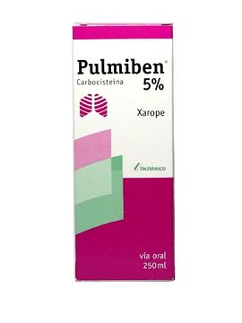 Pulmiben 5%, 50 mg/mL-250 mL x 1 xarope  mL