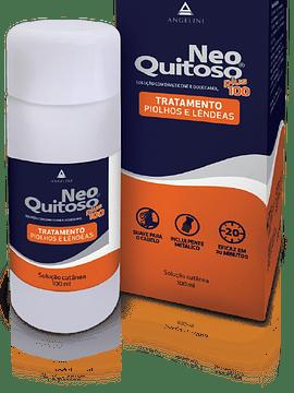 Neo Quitoso Plus Solução Cutânea Piolhos Lêndeas 100ml