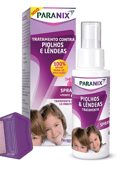 Paranix Spray Piolhos/Lêndeas 100 ml + Pente