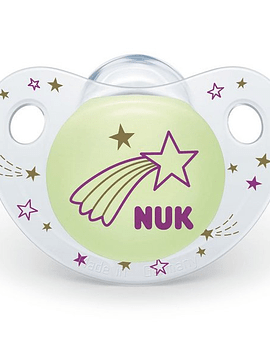 Nuk Chupeta Night & Day Silicone 0-6m/Estrela Cadente