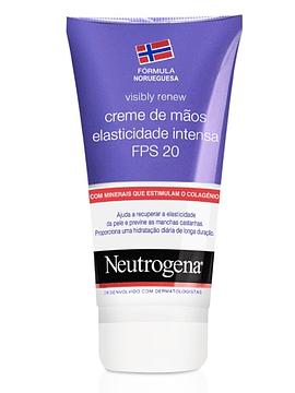 Neutrogena Visibly Renew Creme Mãos Elasticidade Intensa SPF 20  75ml