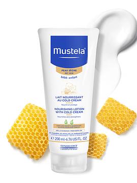 Mustela Bebé Leite Nutritivo com Cold Cream Pele Seca - 200 ml