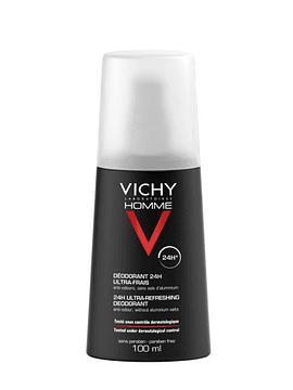 Vichy Homme Deo Vaporizante Purificante 100ml