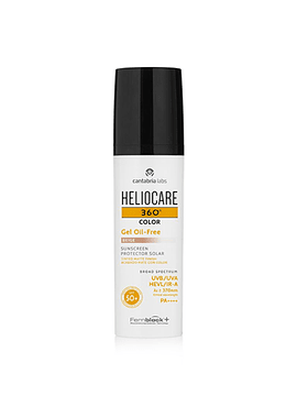 Heliocare 360 Oil Free Gel cor 50+ Mate 50ml Bege