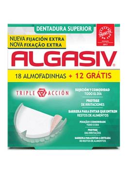Algasiv Almofada Adesiva Prótese Dentária Superior com Oferta de Almofada Superior