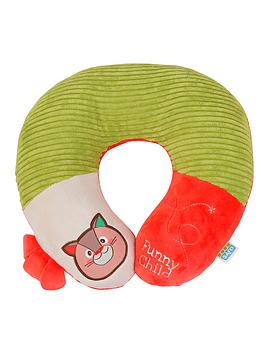 Saro Apoio Cabeça Bebé - Laranja+Verde