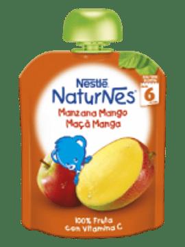Nestlé Naturnes Maçã+Manga 6m+   90G