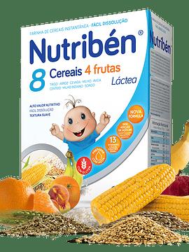 Nutribén Farinha Láctea 8 Cereais e 4 Frutas - 300g