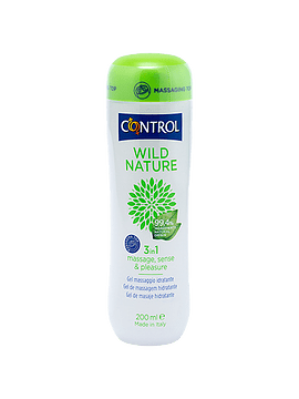 Control Wild Nature Gel Massagem