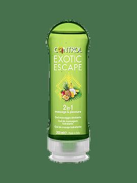 Control 2in1 Gel Massagem Exótico Escape